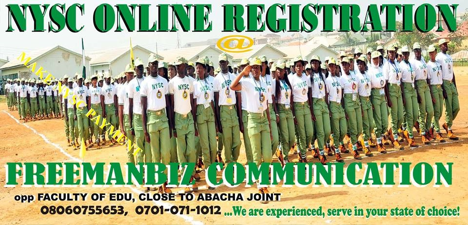 NYSC REGISTRATION CENTER IN EBONYI STATE