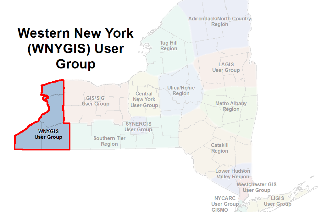 WNYGIS User Group – Spring 2018 Event, Call for Presentation Abstracts