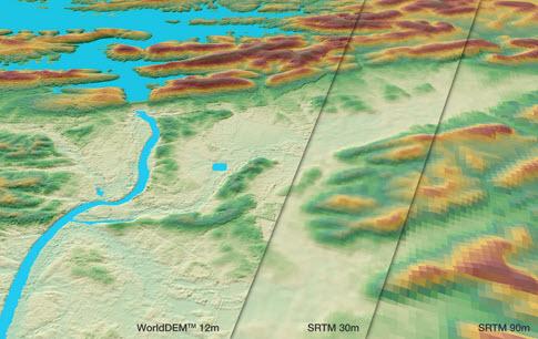 WorldDEM – the New Global Elevation Standard