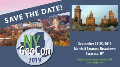 NYGeoCon 2019 – Save the Date!