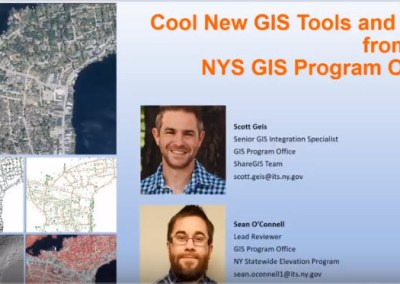 Cool New GIS Tools and Data from the NYS GIS Program Office