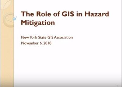 Hazard Mitigation and GIS