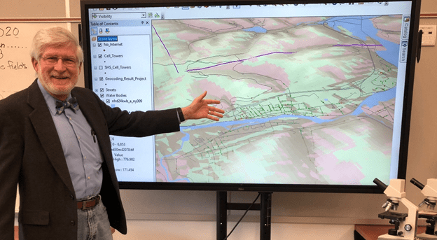 Salamanca CCSD NY Using GIS to Deliver Internet Access to Students