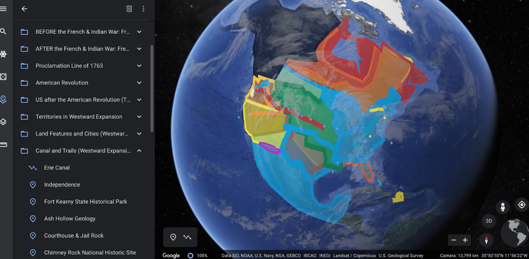 eSpatially – Google Earth in the Classrooms