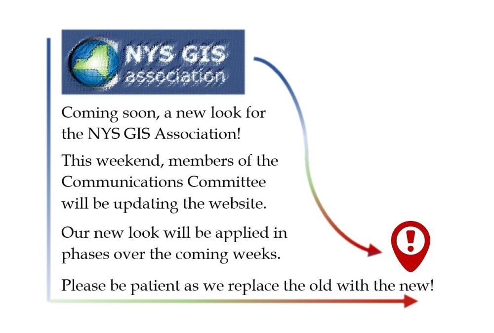 Coming soon, a new look for the NYS GIS Association!