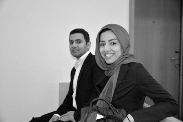 Hamideh Kaffash og Shain Aubarnejad i Oslo  tingrett. FOTO: Privat