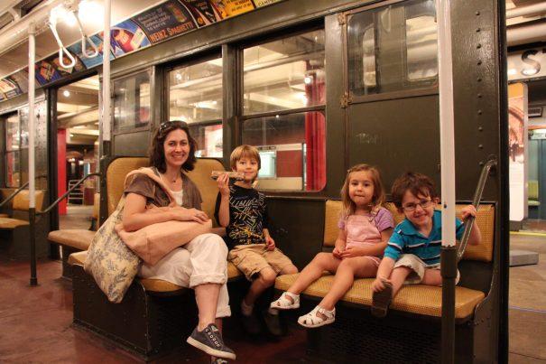 Member Family - mom and three kids