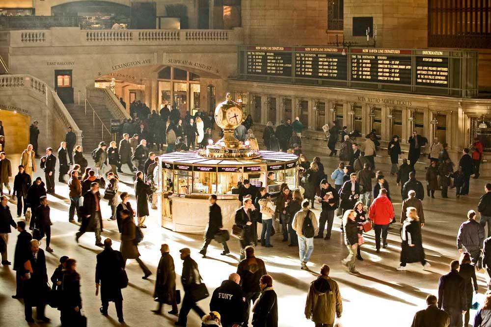 Transit Walk: Midtown Manhattan & Grand Central Terminal - New ...