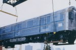"R110A ""New Technology"" cars, arriving New York via ship in October 1992."
