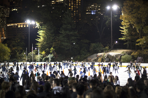 The Inter-Residence Hall Council hosted the 8th annual Flurry at Central Park's Wollman Rink on Nov. 4th.