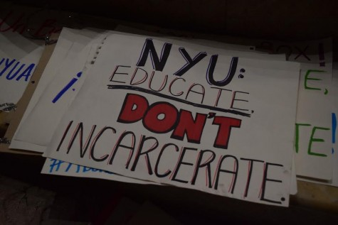 Students remain in Kimmel after NYU administration stating they are technically trespassing.
