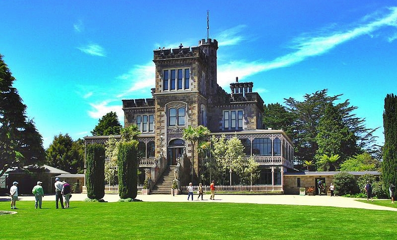 Larnach Castle in Dunedin, New Zealand