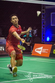 Jonatan Christie - Badminton NZ