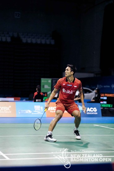 Jonatan Christie - Evan Xiao for Badminton NZ