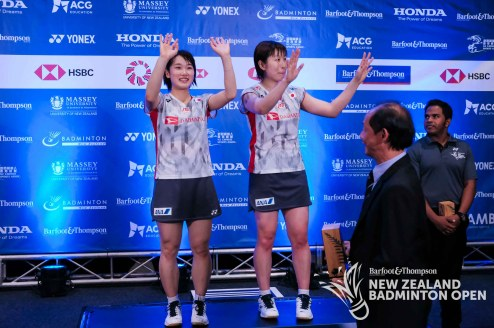 Sakuramoto / Takahata - Evan Xiao for Badminton NZ