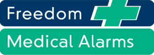 Freedom medical alarms logo
