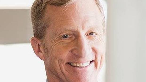 Tom Steyer says Donald Trump should be impeached for corruption. Photo / Twitter