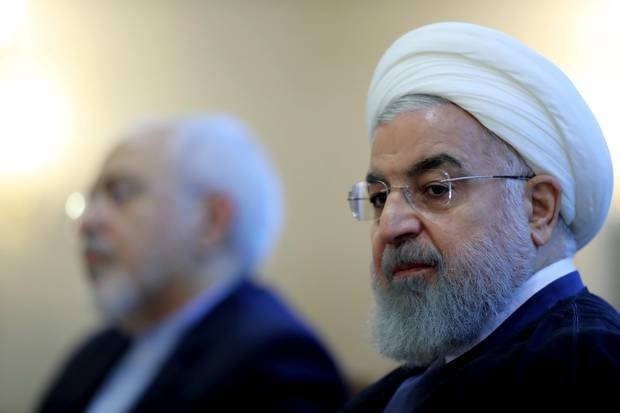 Iranian president Hassan Rouhani warned Mr Trump against stoking tensions by imposing sanctions. Photo / AP