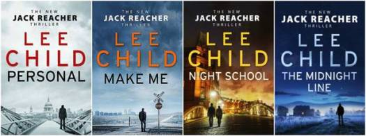 Lee Child's Jack Reacher books have sold an estimated 100 million copies.
