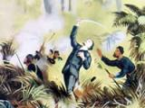 Von Tempsky killed at Te Ngutu-o-te-manu