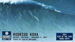 【一番でかい波】ナザレでのサーフィン、ギネス公式で記録更新!高さは80ft