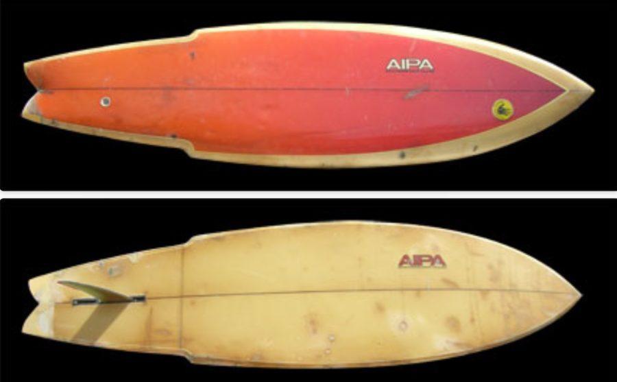 ベンアイパのデザインしたサーフボード