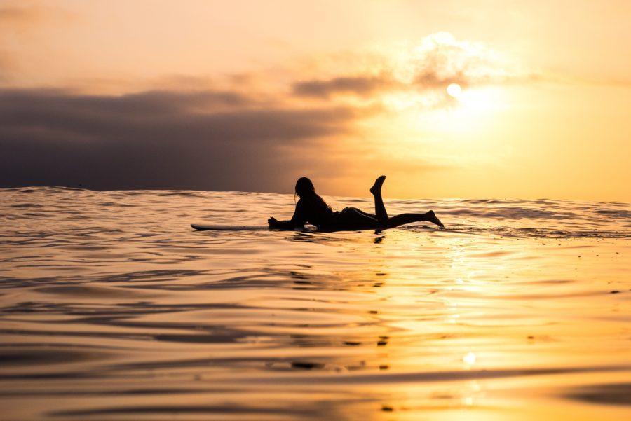 リラックスすることがサーフィン上達一番の秘訣