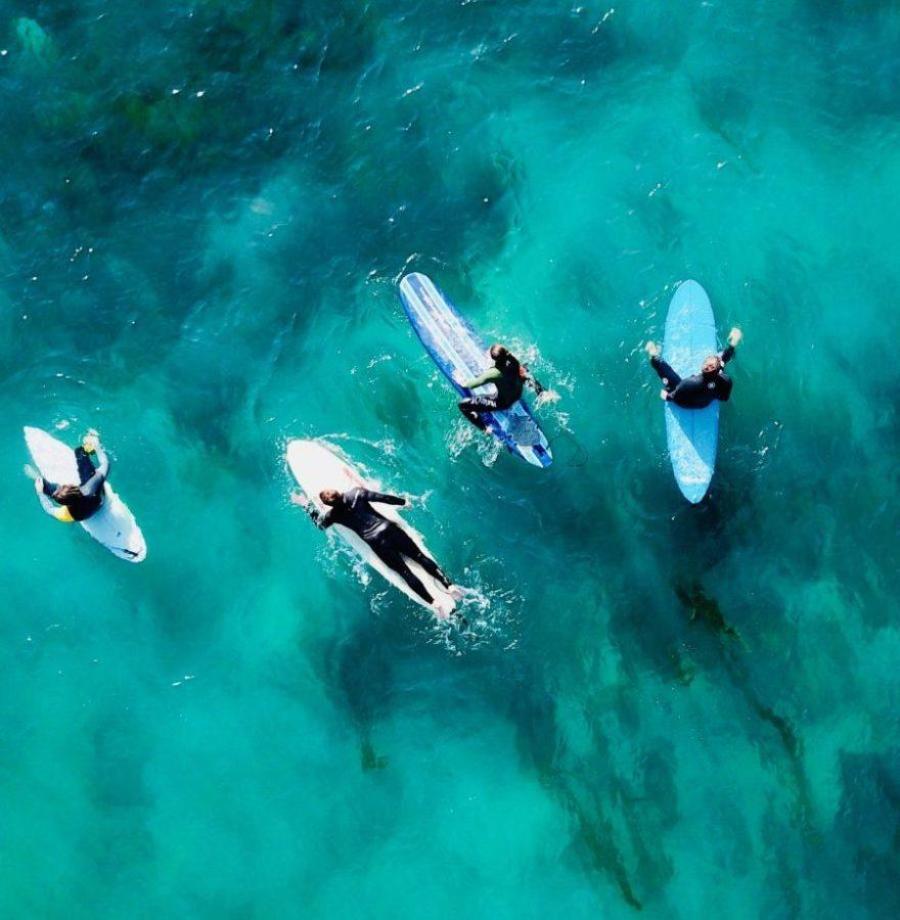 サーフィン始動方法手順