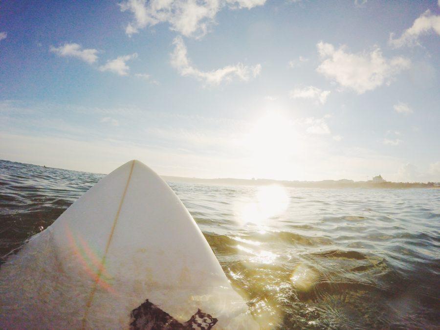 サーフィンのテイクオフは難しい