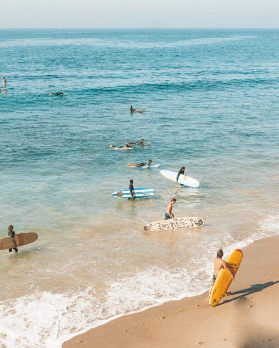 サーフィンがすぐに上手くなる人には共通する特徴がある
