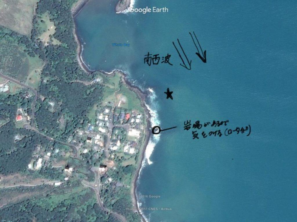 ラグラン用サーフィンマップ