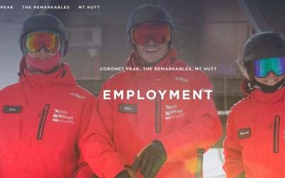 NZSki are recruiting for 2021