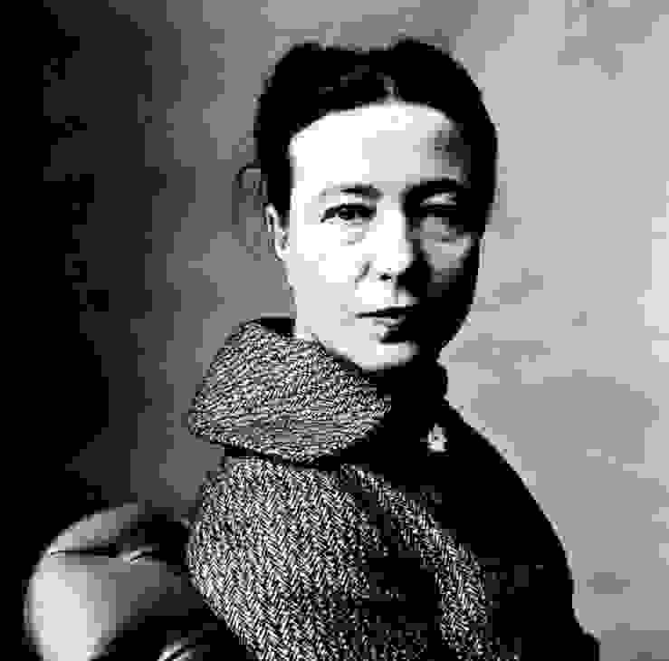 Simone de Beauvoir Irving Penn