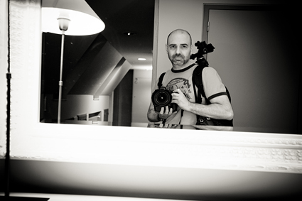 El fotógrafo Jordi Verdés Padrón en Bélgica