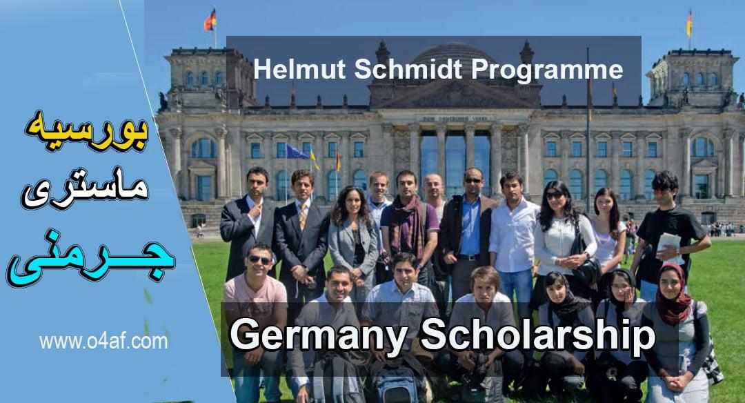 Helmut Schmidt Master scholarship