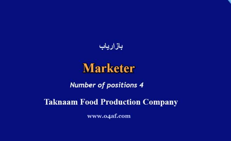 marketer at taknaam