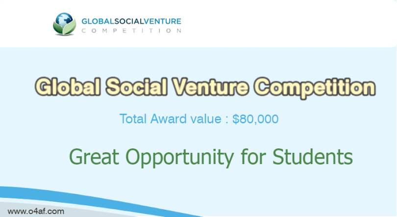 Global Social Venture Competition with Awards