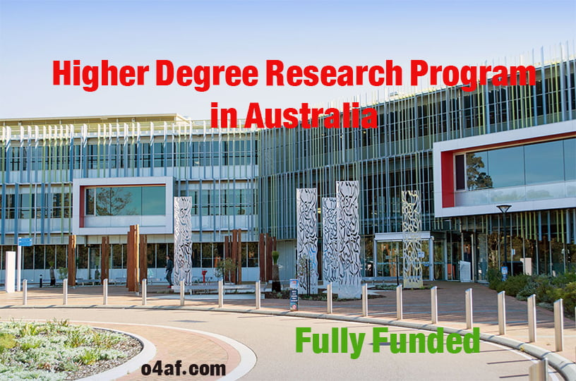 Higher Degree Research Scholarship (Postdoctoral) in