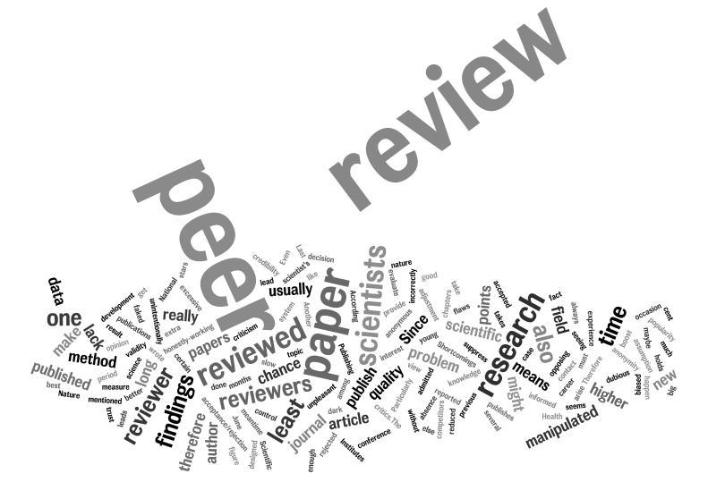 Risultati immagini per peer review