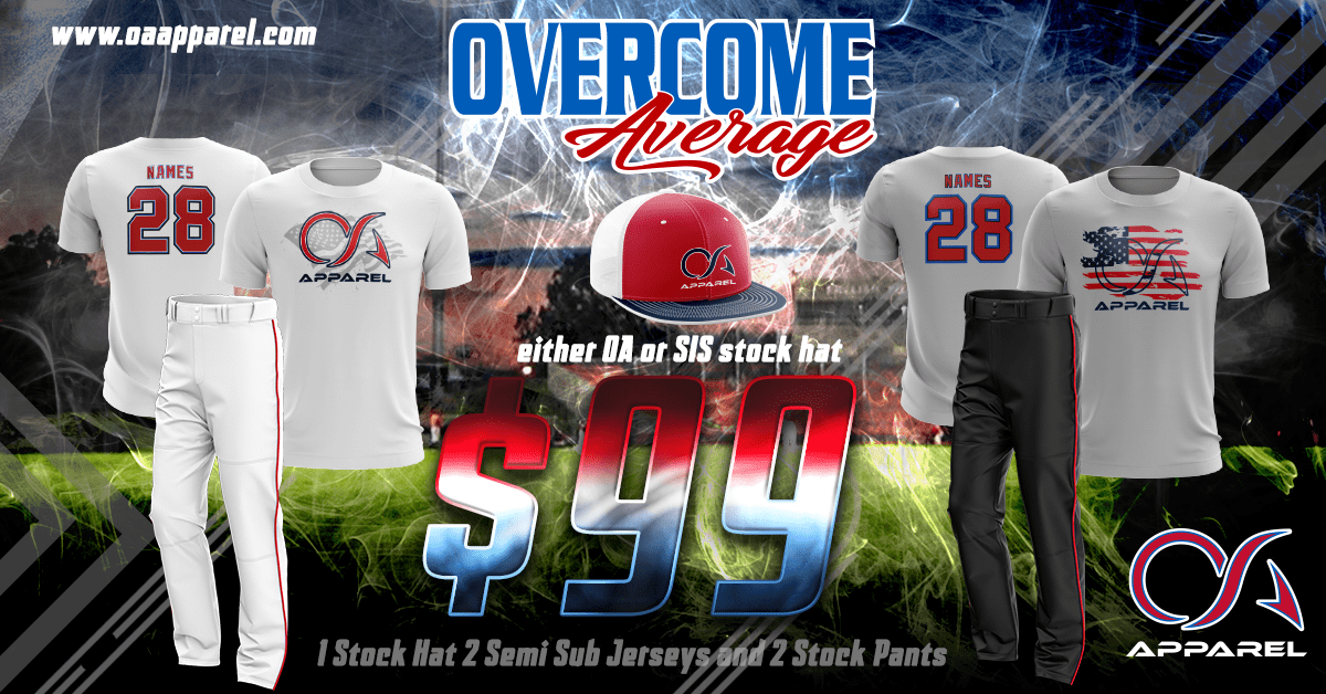 new products b295a 1a217 OA Apparel:Team Uniforms and Streetwear - Overcome Average