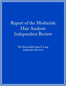 Independent review report cover