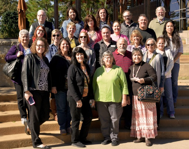 OAEA Leadership Instittute Chickawsaw Cultural Center group photo