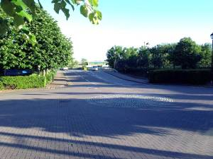 Access Road to Bristol and West Offices, Filton, Bristol.
