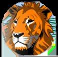 Oak Lion Logo