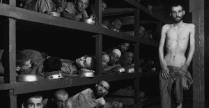 Buchenwald Camp (A young Ellie Wiesel is second to the bottom left)