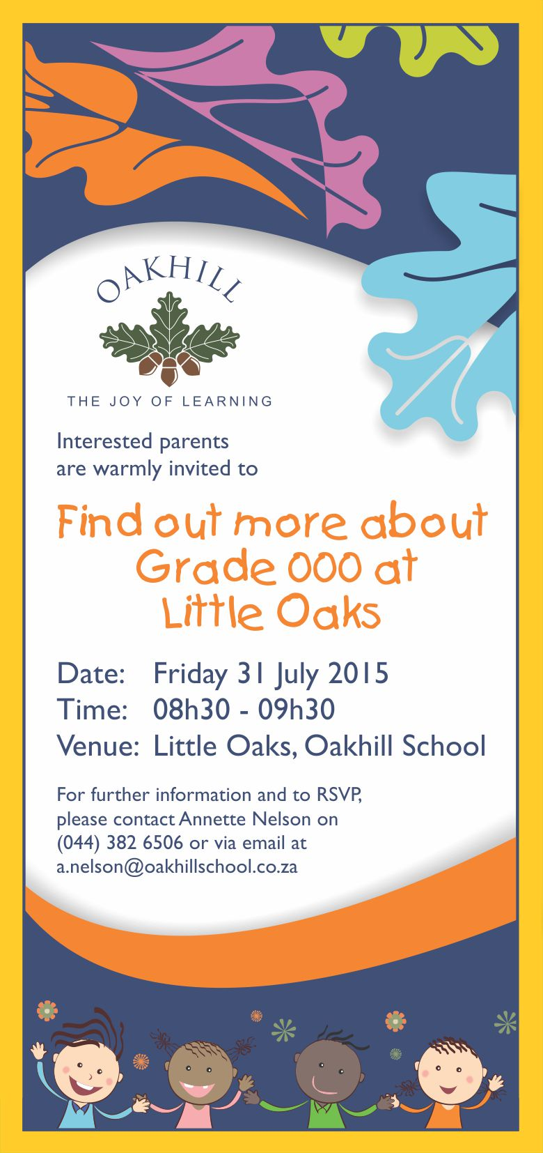 Gr 000 Info Evening Invite