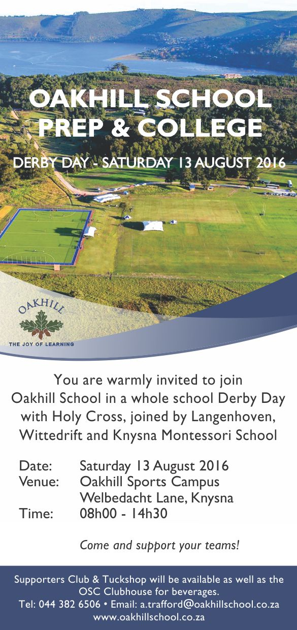 Whole School Derby Day Invite_Holy Cross et al_August 2016