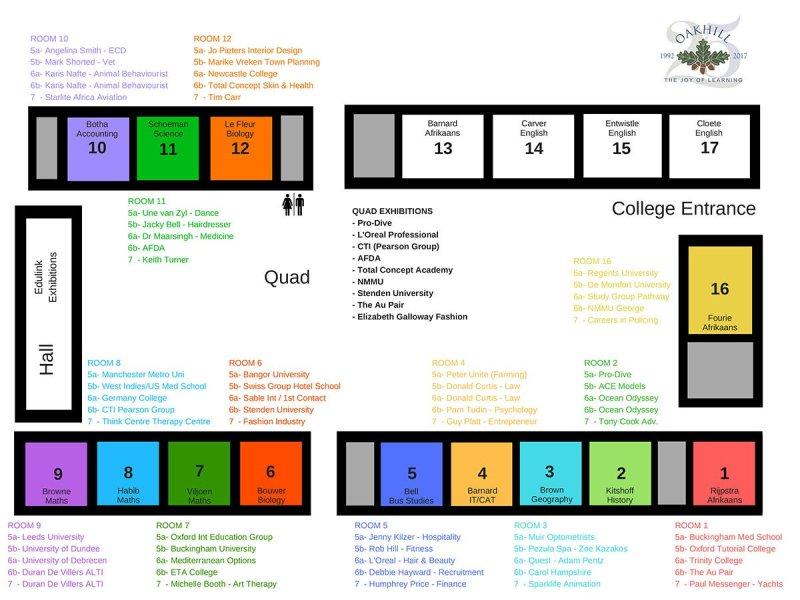 Career Day Floor Plan