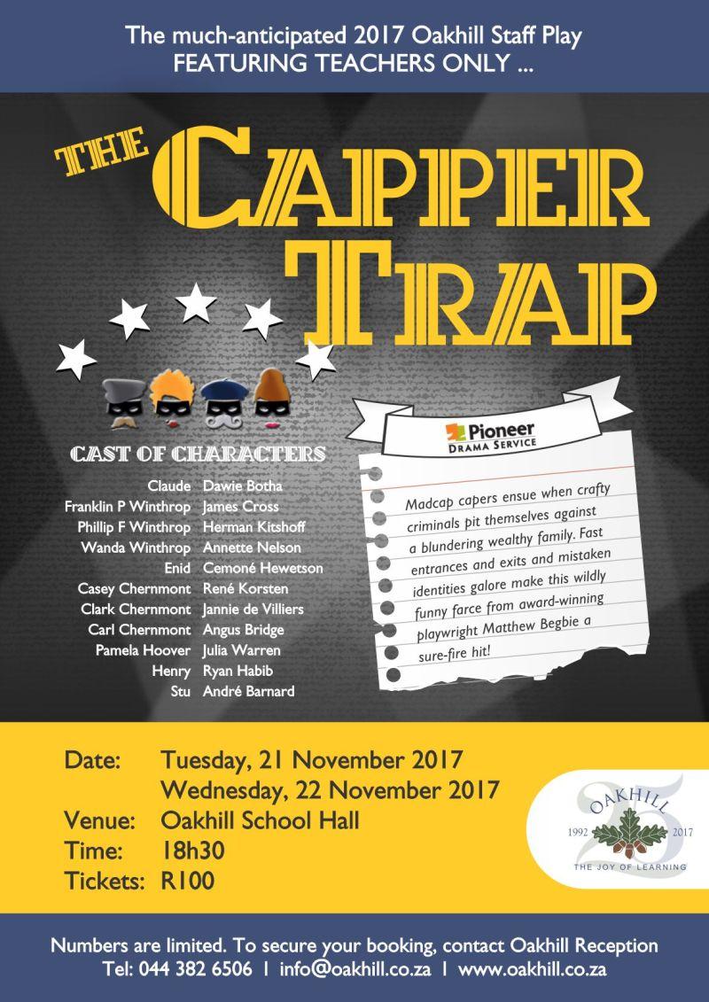 Staff Play 2017 - Capper Trap