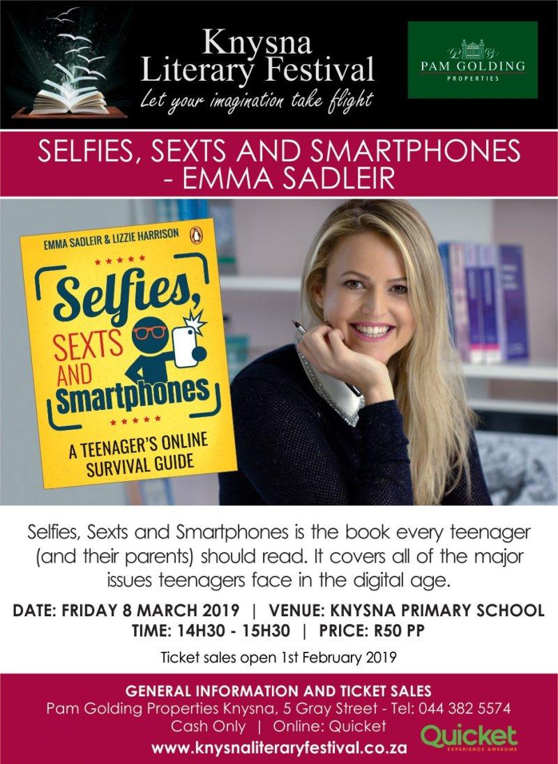 Emma Sadleir Advertisement - Facebook and Whatsapp